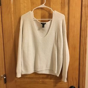 Soft knit v-neck sweater